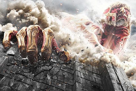 workに映画「進撃の巨人  ATTACK ON TITAN」を追...